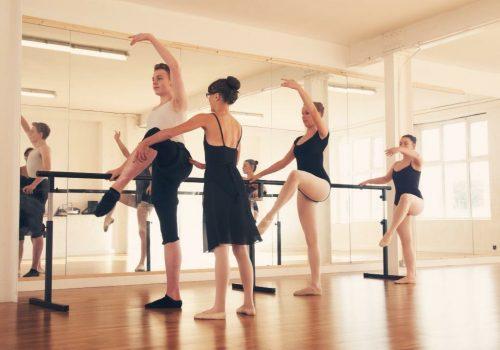 Ballet Dance Class technique adjustments